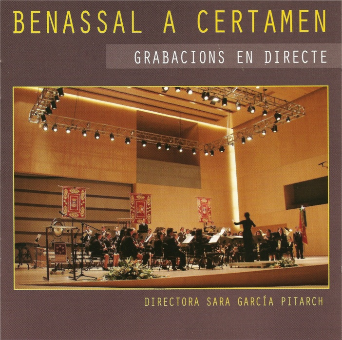 Portada Doble Cd Certamen